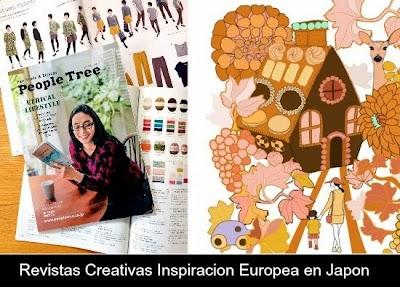 Revistas Creativas Inspiracion Europea en Japon