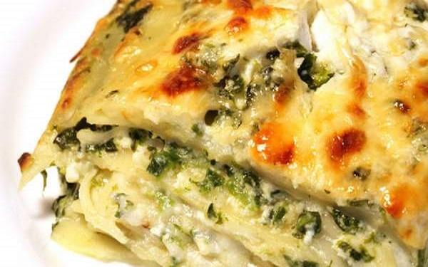 Receita de lasanha vegetariana ao creme de queijos (Imagem: Reprodução/Greenme)