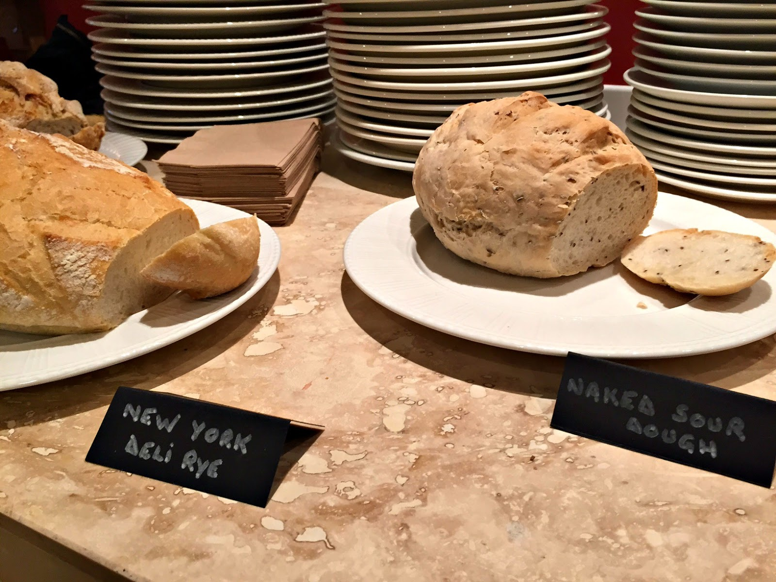 Super Natural Newcastle Bread Selection