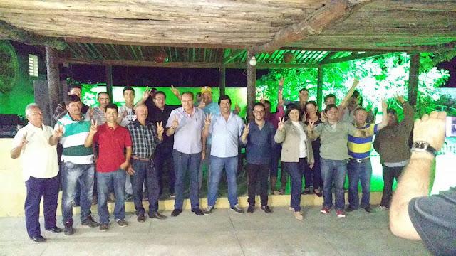 Prefeito de Pocinhos recebe apoio de mais um vereador e do PSDB