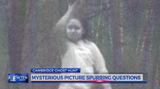 Niña 'fantasma' no identificada es vista por cámara remota en el estado de Nueva York