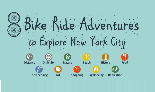 8 Bike Ride Adventures to Explore New York City
