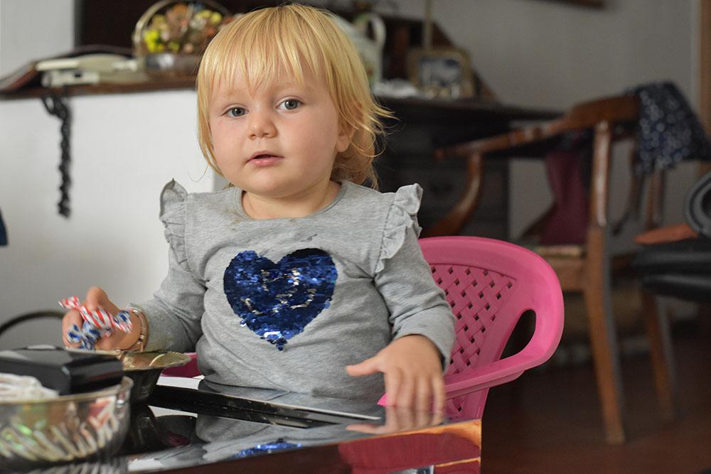 maglietta cuore paillettes