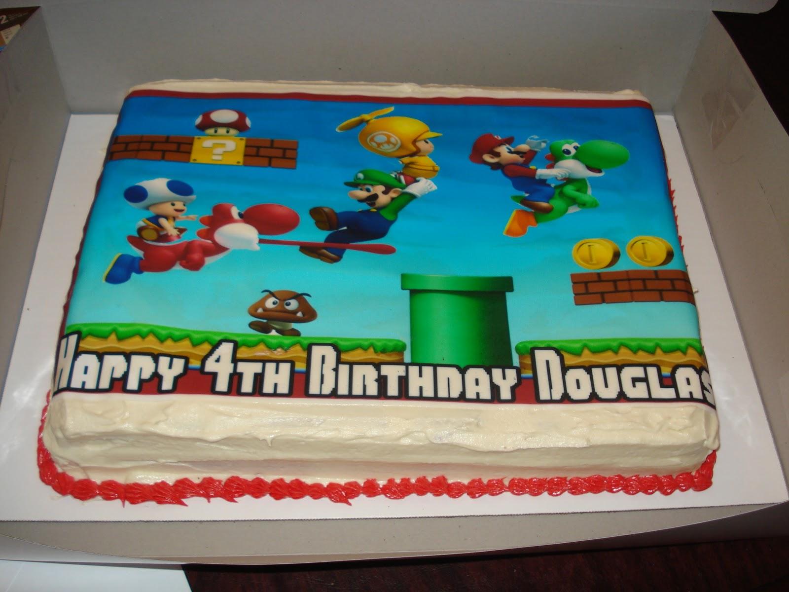 C Amp B Creations Super Mario Bros 4th Birthday