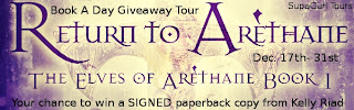 Giveaway Tour: Return to Arethane by Kelly Riad *US Only*