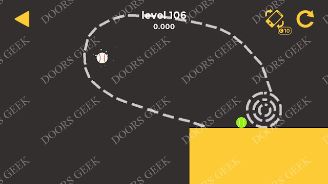 Ball & Ball Level 106 Solution, Walkthrough, Cheats for android and ios