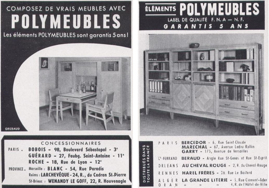 Art Utile Meubles David  Polymeubles