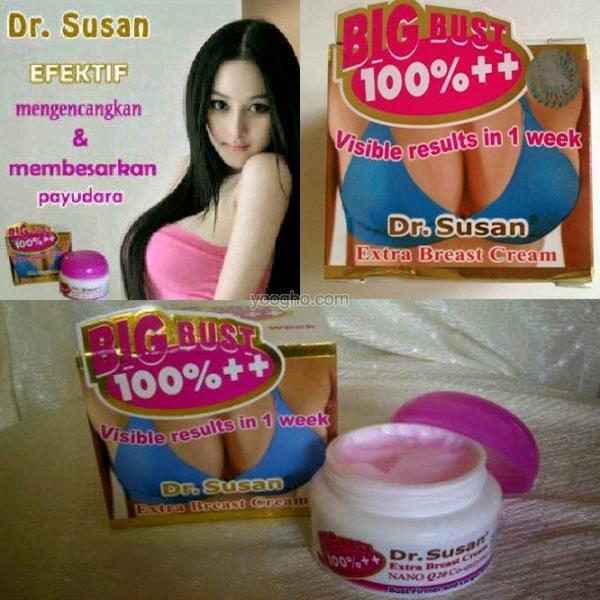 Cream Dr Susan ASLI Aman dan Alami Membesarkan Payudara
