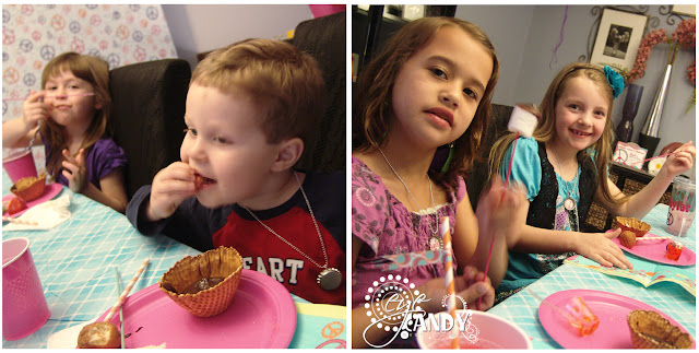 kids at peace birthday party
