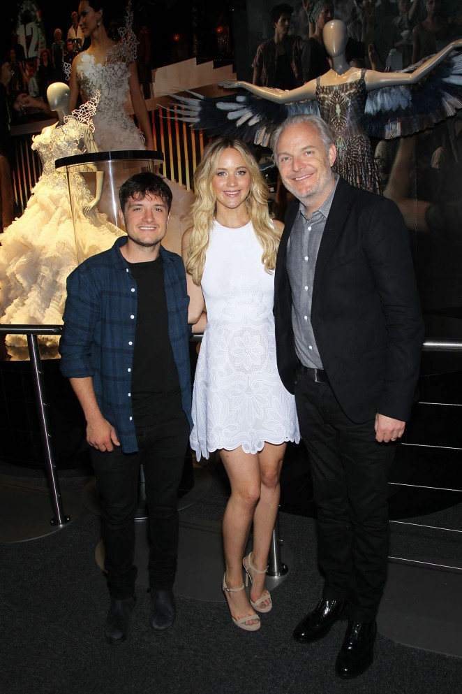 Jennifer Lawrence at 'The Hunger Games The Exhibition' VIP Event in NYC