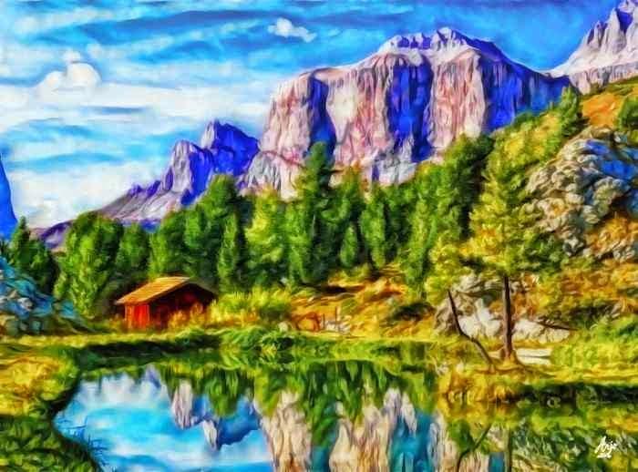 Цифровая живопись. Arjo62