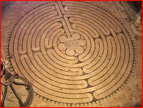 Art Patterns Inspiration Le Labyrinthe De Chartres