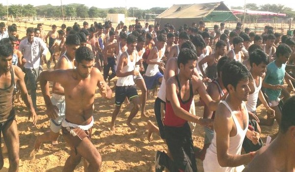 Sangareddy  Army Rally, Indian Army Rally, Open Bharti Rally