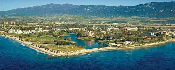 Beautiful view of UCSB campus where 33rd PCGM was held (Photo source: UCSB)