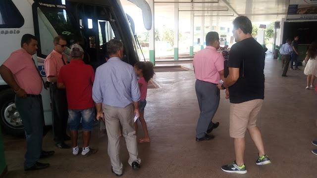 Vendas de passagens de ônibus no Ano Novo estão abaixo do esperado em Cacoal