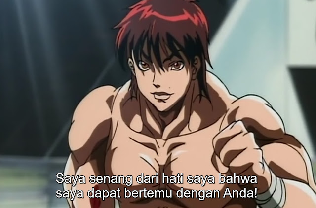 Baki The Grappler Episode 18 Subtitle Indonesia