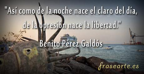 Frases para la vida Benito Pérez Galdós
