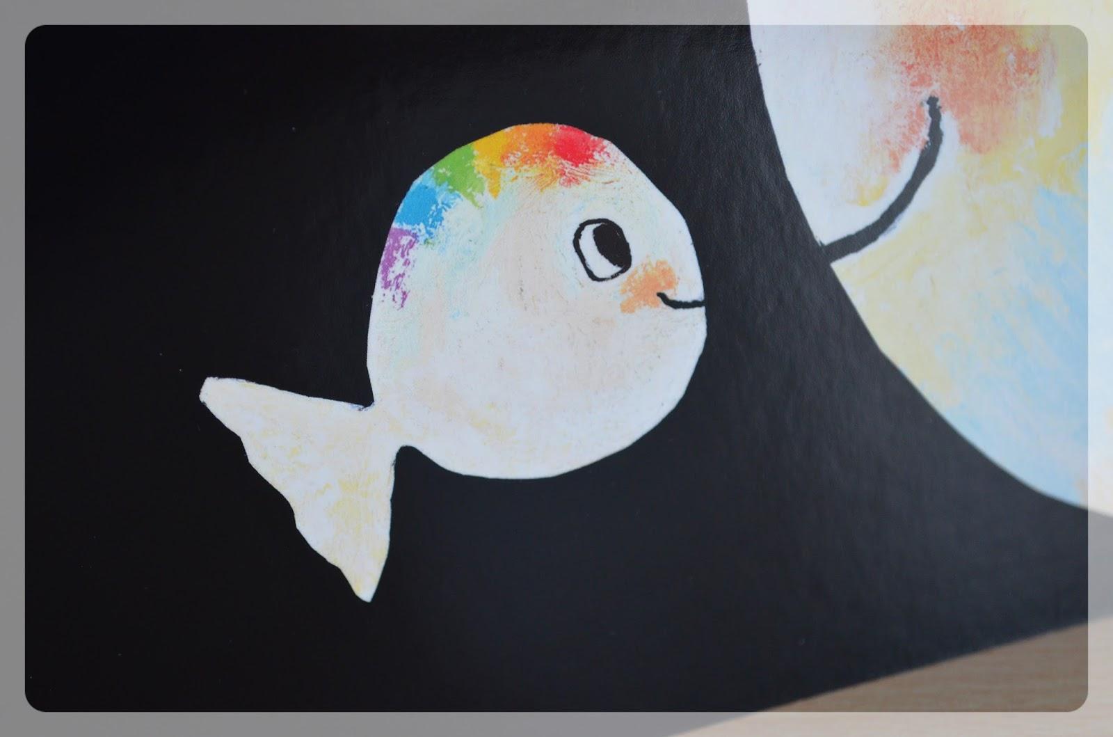 Mutter, Kater, Kind: Kinderbuch: Kleiner weißer Fisch ...