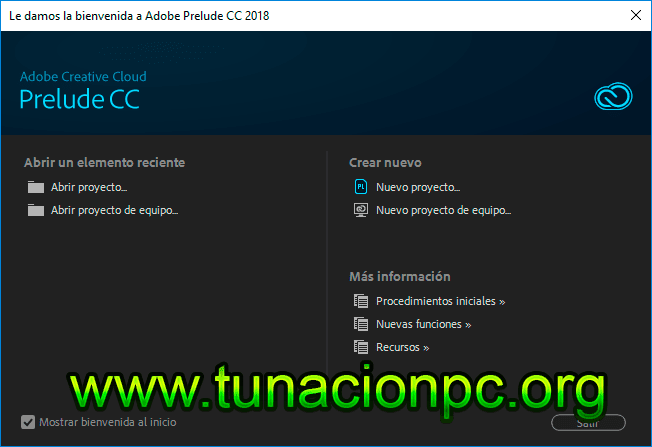 Adobe Prelude CC 2018 Portable