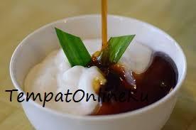 bubur sumsum kuah durian