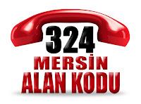 0324 Mersin telefon alan kodu