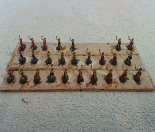A unit of Gallic/Celtic slingers completed for my celtic army which is growing very nicely now picture 1