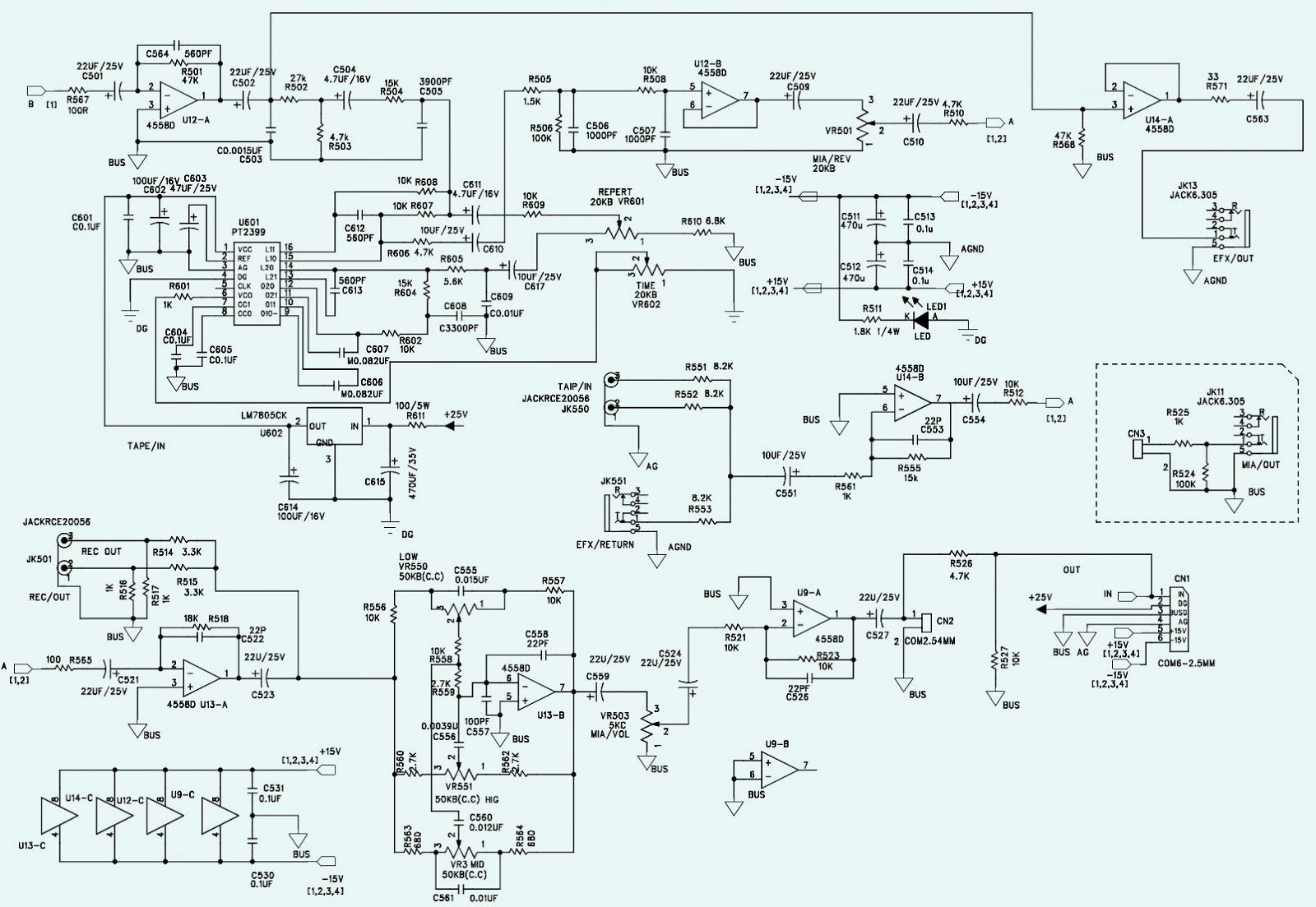 Pro Audio Wiring Diagrams Window Ac Fan Motor Diagram Electro Help Wharfedale  Pm 600 Schematic