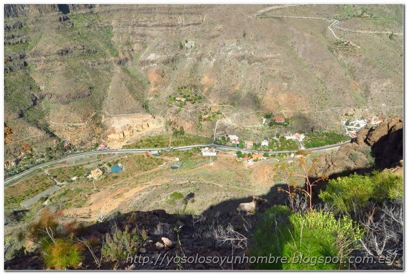 Este valle está más habitado, que pequeñas se ven las casas