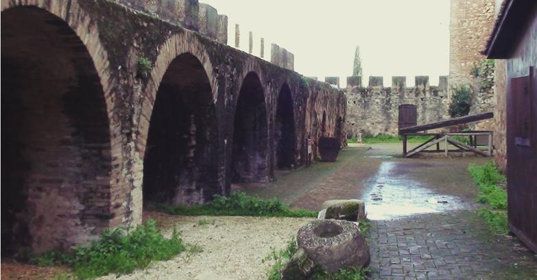 Castillo de Niebla. Castillo de los Guzmanes,