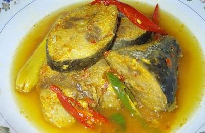 Resep Ikan Tongkol Bumbu Kuning