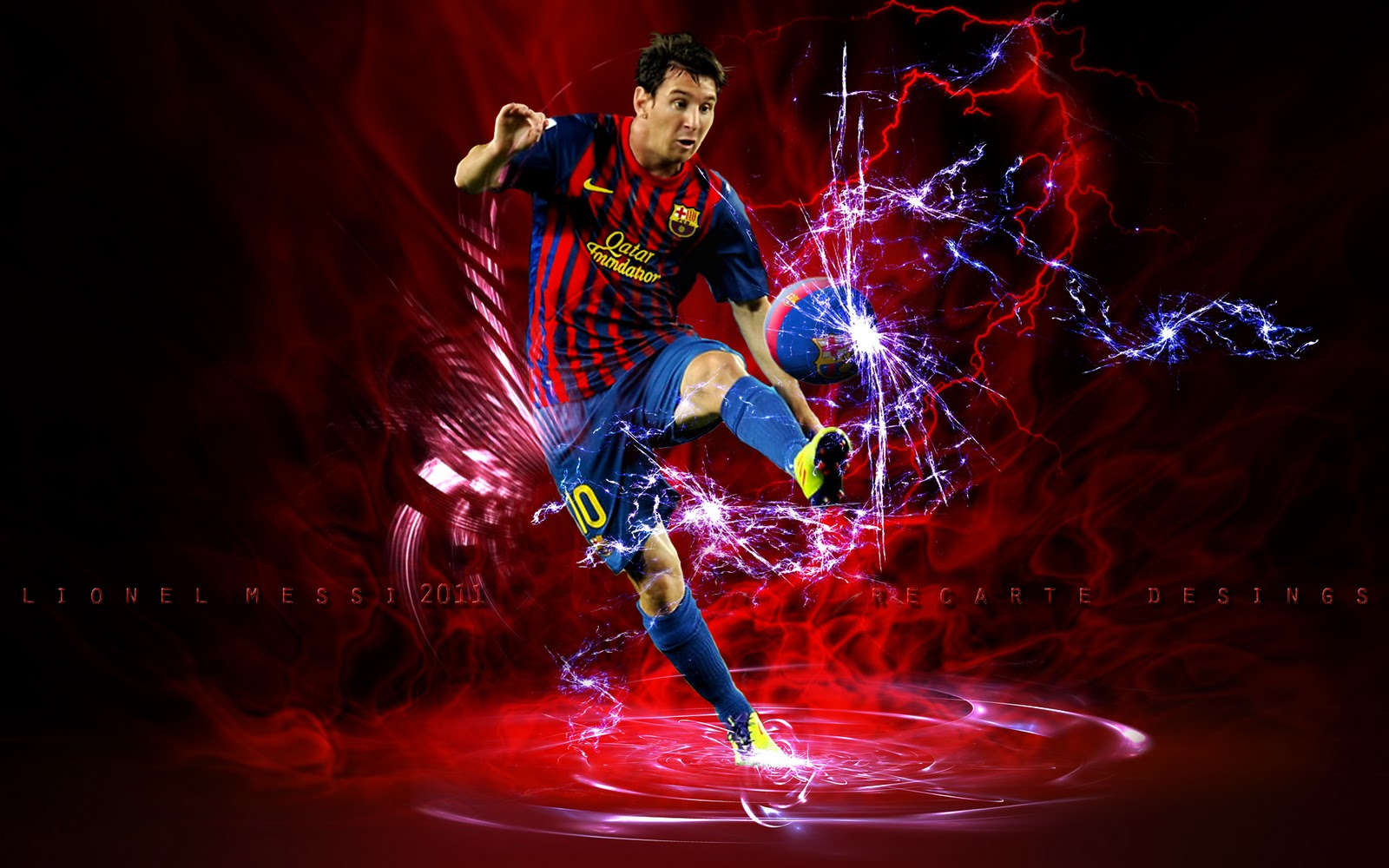 Balón De Fútbol 1920x1080 Hd: Lionel Messi Wallpapers 2012 HD