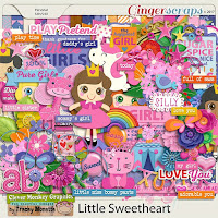 Kit : Little Sweetheart by Clever Monkey Graphics