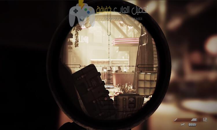 تحميل لعبة Call Of Duty Ghosts بحجم صغير للكمبيوتر