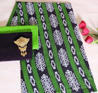 Kain Batik dan Embos 472 Hijau
