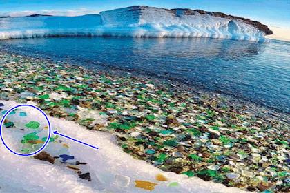 """Turis Selalu Buang Botol Bir Beling Ke Pantai Ini, Tapi Siapa Sangka, Alam Kita Bisa Mengubah """"Pantai Sampah"""" Menjadi """"Surga Bercahaya""""?!"""