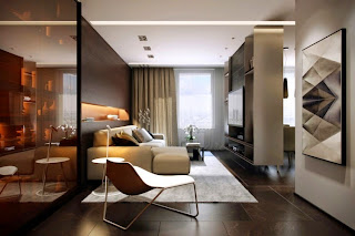 moderna y elegante sala