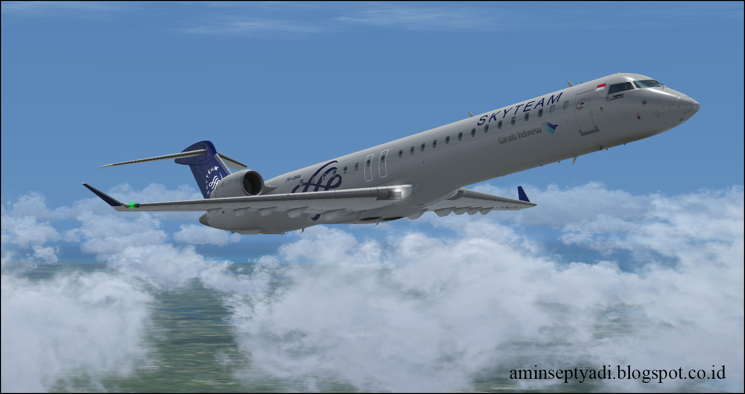 Lare Jogja's Blog: Garuda CRJ All Registration