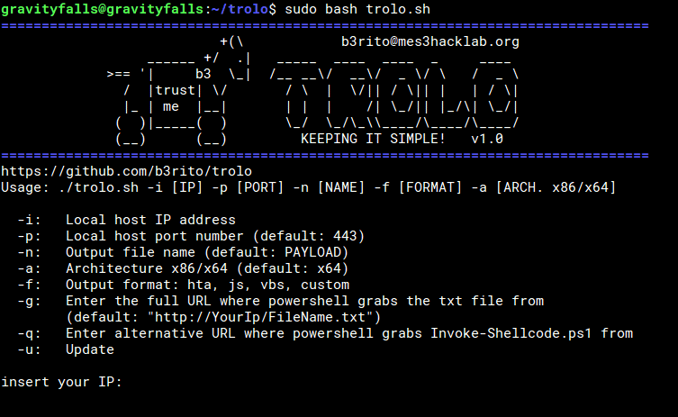 trolo - An easy way to bypass Antivirus