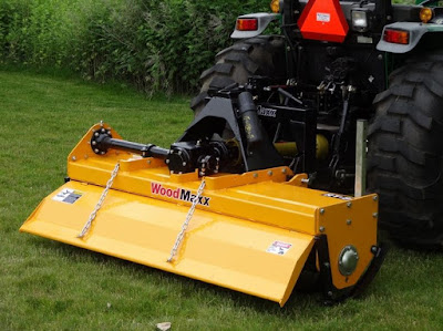 General Safety Information for the WoodMaxx PTO Driven Rotary Tiller