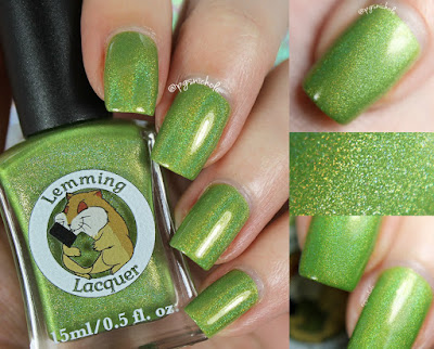 Lemming Lacquer Fort Kickass | Damn It, I had Something For This; An Archer Inspired Collection