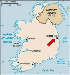 Map Of Ireland 9th Century.Christopher S Expat Adventure Dublin Ireland