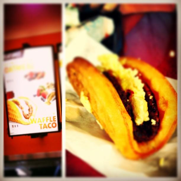 News: Taco Bell Testing a Waffle Taco | Brand Eating  Taco