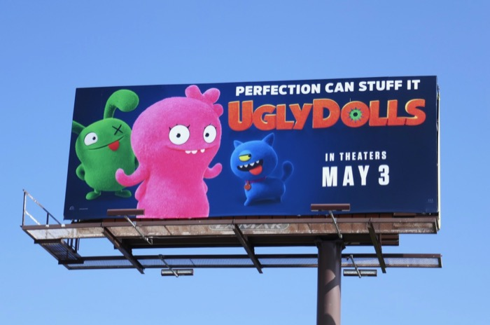 UglyDolls film billboard