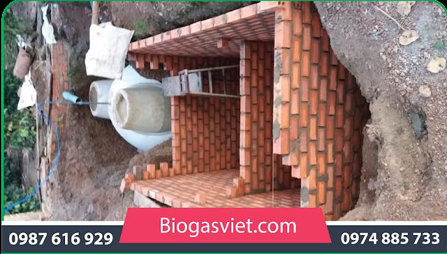 hầm khí biogas