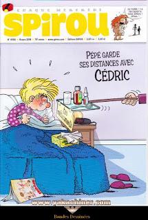Chaque mercredi, Spirou, Cédric, numéro 4065, année 2016