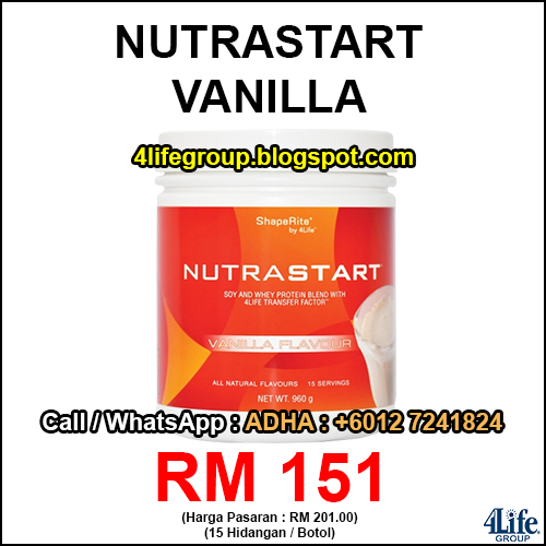 4Life NutraStart Vanilla