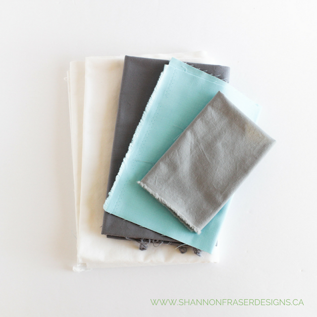 Kona Solids | Modern Baby Quilt | Shannon Fraser Designs | Quilting Cotton