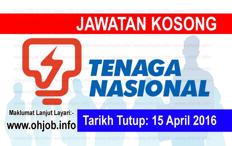 Jawatan Kerja Kosong TNB Research Sdn Bhd logo www.ohjob.info april 2016