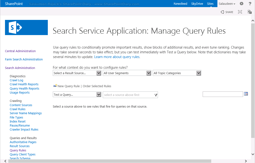 best bets sharepoint 2013 search