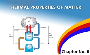 9th Class Physics Notes Chapter No 8 Thermal Properties Of Matter